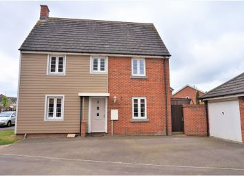 Thumbnail 3 bedroom link-detached house for sale in Cleeve Road, Marnel Park, Basingstoke