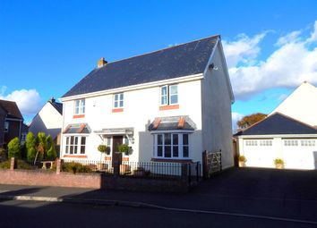 Thumbnail 5 bed detached house for sale in Burrows Close, Southgate, Swansea