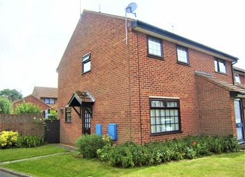 Thumbnail 2 bedroom semi-detached house to rent in Stock Lea Road, North Wootton, King's Lynn