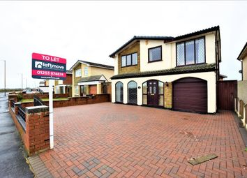 Thumbnail 4 bed detached house to rent in Princes Way, Fleetwood, Lancashire