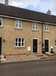 Thumbnail 3 bed terraced house for sale in Birch Close, Cranfield, Bedfordshire