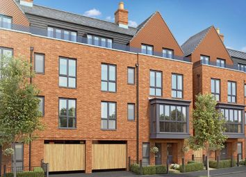 "Thumbnail 4 bed semi-detached house for sale in ""Blackthorn"" at Biscoe Way, Wokingham"