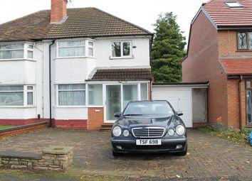 Thumbnail 3 bedroom semi-detached house to rent in Landgate Road, Handsworth, Birmingham