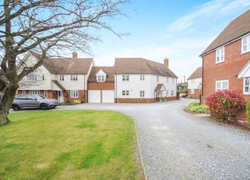 Thumbnail 5 bedroom link-detached house for sale in The Tythings, Howe Green, Chelmsford