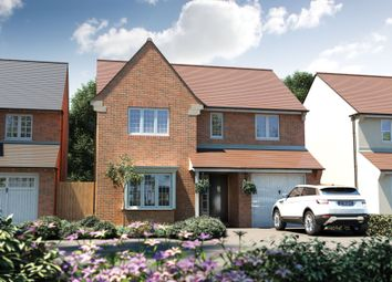 "Thumbnail 4 bed detached house for sale in ""The Buckland"" at Witney Road, Kingston Bagpuize, Abingdon"