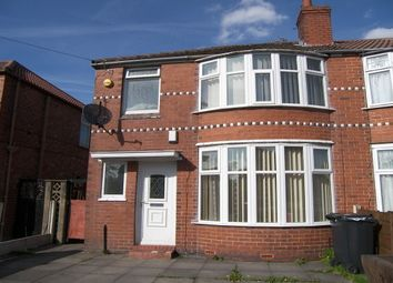 Thumbnail 4 bed semi-detached house to rent in Heyscroft Road, Withington, Manchester