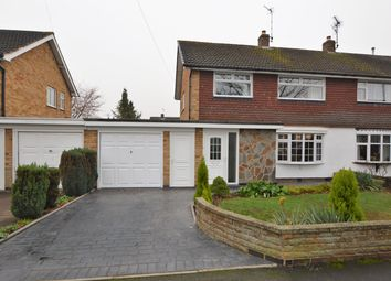 Thumbnail 3 bed semi-detached house for sale in Gloucester Crescent, Wigston