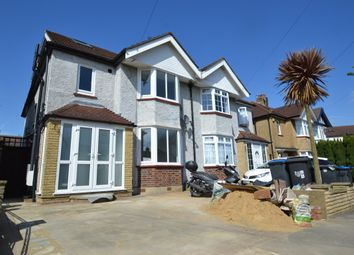 Thumbnail 3 bed maisonette to rent in Kingsmead Avenue, Tolworth, Surbiton