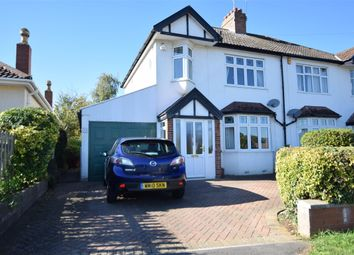Thumbnail 3 bed semi-detached house for sale in Manor Road, Saltford, Bristol