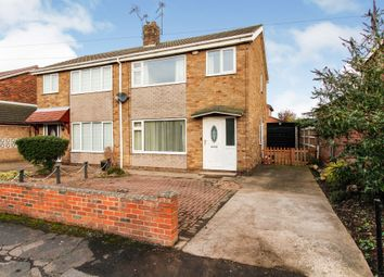 Thumbnail 3 bed semi-detached house for sale in Southwood Drive, Thorne, Doncaster
