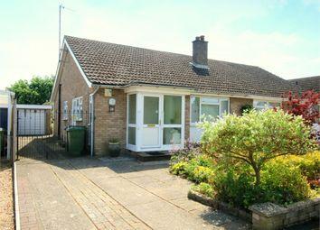 Thumbnail 2 bed semi-detached bungalow for sale in Wheatsheaf Road, Eaton Socon, St. Neots