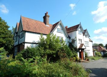 Thumbnail 7 bed country house for sale in Bunwell Manor, Rectory Lane, Bunwell, Norfolk