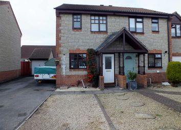 Thumbnail 2 bed semi-detached house for sale in Kingfisher Drive, Westbury, Wiltshire