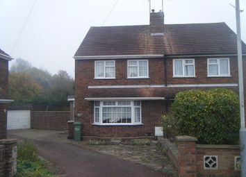 Thumbnail 3 bed semi-detached house to rent in Brooklands Close, Luton