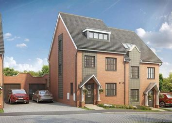 Thumbnail 3 bed semi-detached house for sale in The Cedar At Pine Trees, Daws Hill Lane, High Wycombe