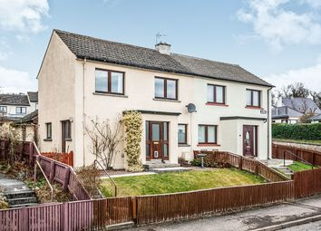 Thumbnail 4 bed semi-detached house for sale in Academy Crescent, Dingwall