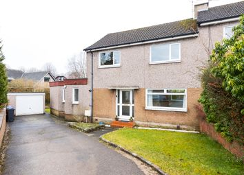 Thumbnail 4 bed semi-detached house for sale in Moncrieff Gardens, Lenzie, Kirkintilloch, Glasgow