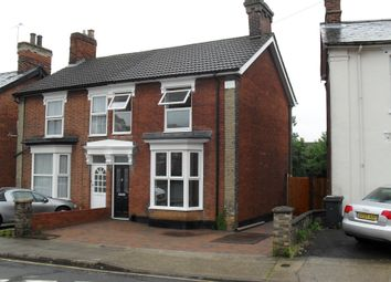 Thumbnail 3 bedroom semi-detached house to rent in Stevenson Road, Ipswich