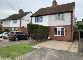 Thumbnail 2 bed semi-detached house for sale in Frolesworth Road, Broughton Astley, Leicester