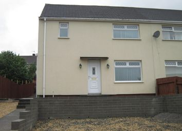 Thumbnail 3 bed semi-detached house for sale in Brynamlwg, Cefn Hengoed