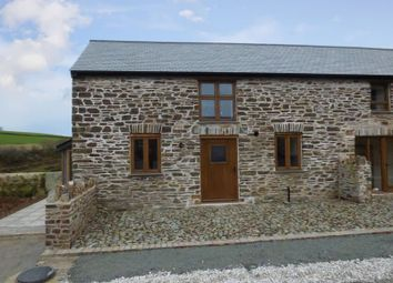 Thumbnail 2 bed semi-detached house for sale in Chillaton, Lifton