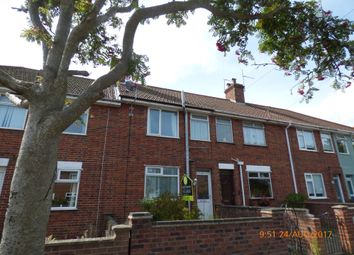 Thumbnail 2 bed terraced house to rent in Ashley Downs, Lowestoft