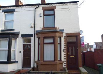Thumbnail 2 bed end terrace house to rent in Yelverton Road, Tranmere, Birkenhead