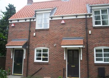 Thumbnail 1 bed end terrace house to rent in Cautley Mews, Hedon, East Riding Of Yorkshire