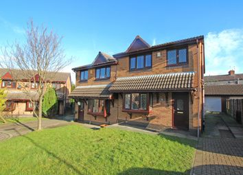 Thumbnail 3 bed semi-detached house for sale in Heys Court, Blackburn