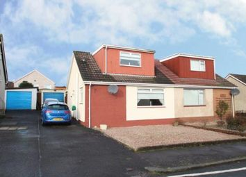 Thumbnail 2 bed semi-detached house for sale in Credon Drive, Crosshouse, Kilmarnock, East Ayrshire