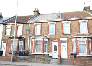 Thumbnail 4 bed terraced house for sale in Manston Road, Ramsgate