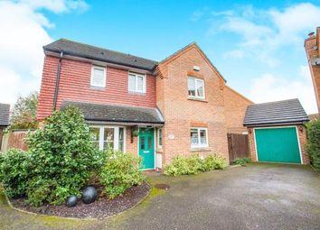 Thumbnail 3 bedroom detached house for sale in Crombie Close, Hawkinge, Folkestone, Kent