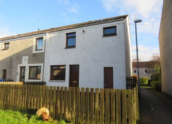 Thumbnail 3 bedroom end terrace house for sale in Pladda Terrace, Broomlands, Irvine