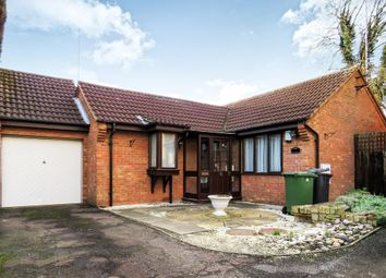 Thumbnail 2 bed detached bungalow for sale in Melrose Drive, Peterborough