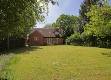 Thumbnail 4 bed detached bungalow to rent in South Stoke Road, Woodcote, Reading