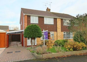 Thumbnail 3 bed semi-detached house for sale in Cherrington Road, Nantwich