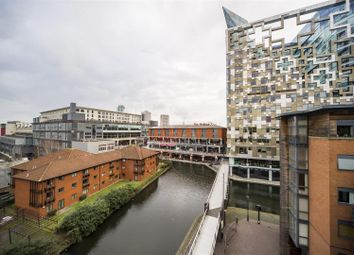 Thumbnail 3 bed flat for sale in Waterfront Walk, Birmingham