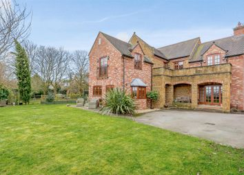 Thumbnail 5 bed detached house for sale in Flecknoe, Rugby, Warwickshire