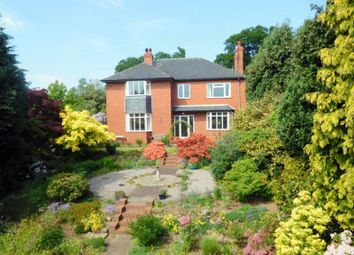 Thumbnail 4 bed detached house for sale in Uttoxeter Road, Checkley, Stoke-On-Trent