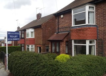 Thumbnail 2 bed semi-detached house to rent in Jenkin Drive, Sheffield