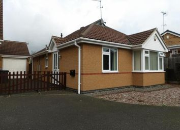 Thumbnail 2 bed bungalow for sale in Chichester Close, Ellistown, Coalville