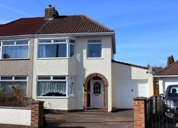 Thumbnail 4 bed semi-detached house for sale in Burley Crest, Downend