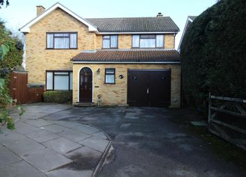 Thumbnail 4 bed detached house for sale in Heron Wood Road, Aldershot