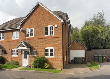 Thumbnail 4 bedroom semi-detached house for sale in The Copse, Bushey