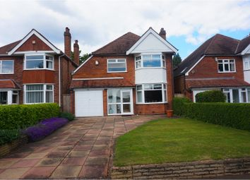 Thumbnail 3 bed detached house for sale in Solihull Road, Solihull