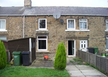 Thumbnail 2 bedroom terraced house to rent in Seventh Row, Ashington, Northumberland