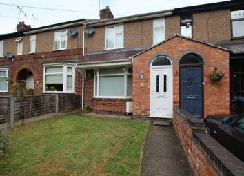 Thumbnail 2 bed terraced house for sale in Shortley Road, Coventry
