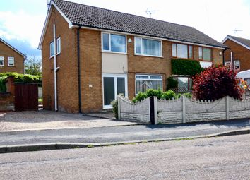 Thumbnail 3 bed semi-detached house for sale in Manor Close, Walesby, Newark