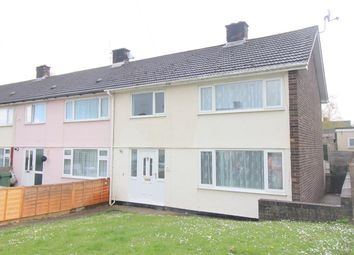 Thumbnail 3 bedroom end terrace house for sale in Willow Drive, Llanmartin, Newport