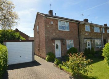 Thumbnail 2 bed end terrace house for sale in Garnett Crescent, Leicester